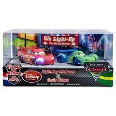 Cars 2 Light-Up - Lightning McQueen vs. Carla Veloso