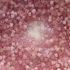 05295 Бисер Preciosa рубка 9/0 , розово-сиреневый сатин