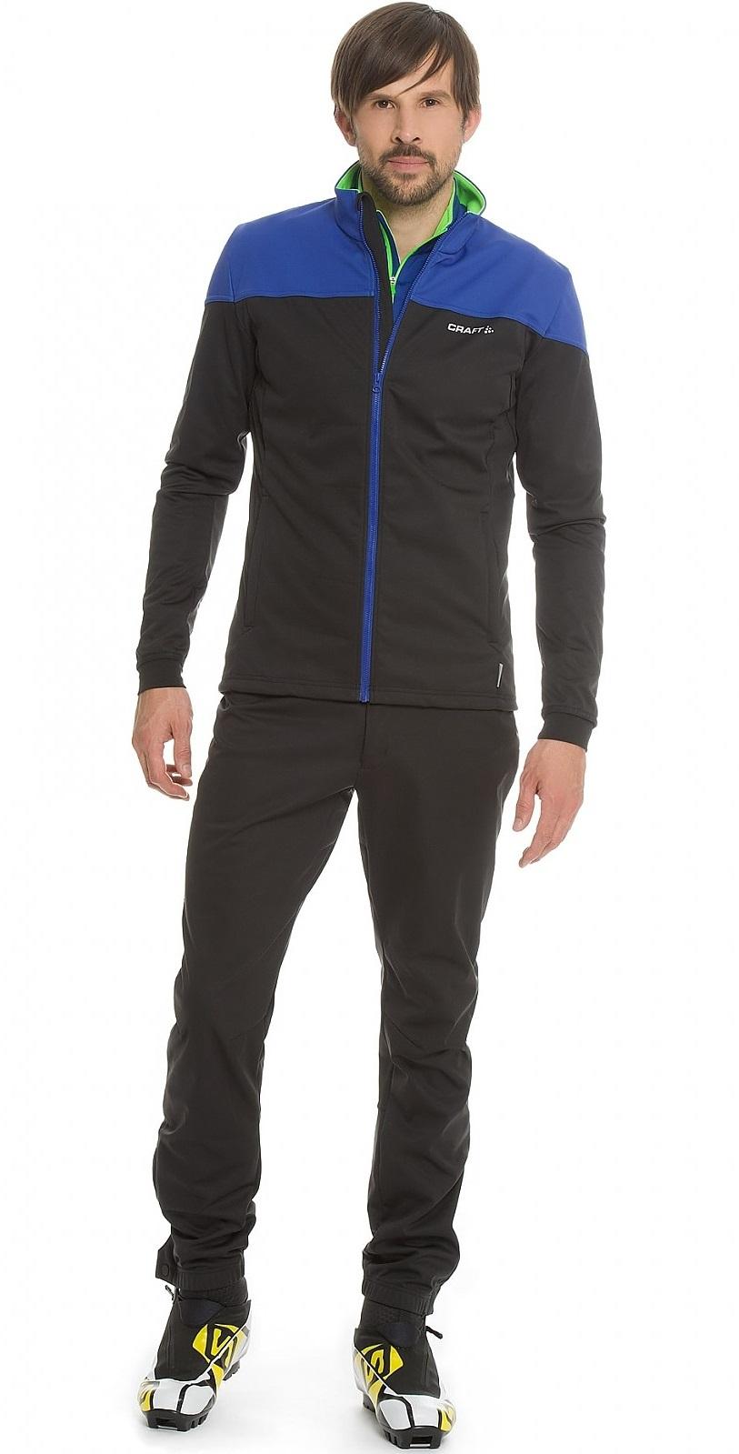 Мужская лыжная куртка крафт Voyage XC (1903581-2344) черный/синий фото