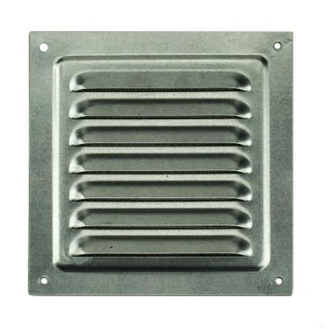 Решетка металлическая оцинкованная 250х250мм 2525МЦ