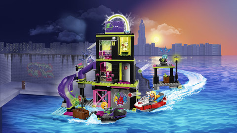 LEGO DC Super Hero Girls: Фабрика криптомитов Лены Лютор 41238 — Lena Luthor Kryptomite Factory — Лего Девушки-супергерои
