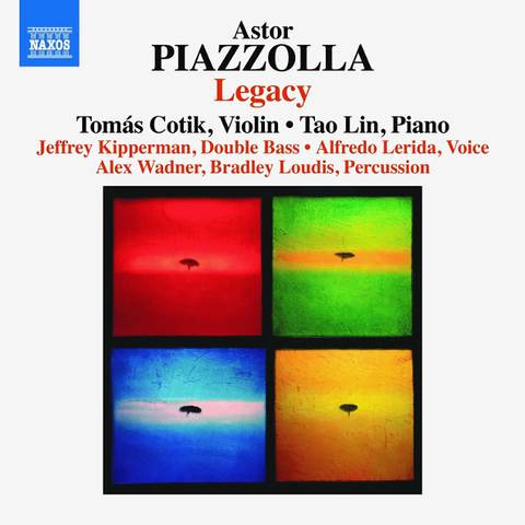 Tomas Cotik, Tao Lin, Jeffrey Kipperman, Alex Wadner, Bradley Loudis / Astor Piazzolla: Legacy (CD)