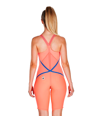 Стартовый костюм SPEEDO LZR RACER X Closedback Kneeskin siren red/beautiful blue ПОД ЗАКАЗ