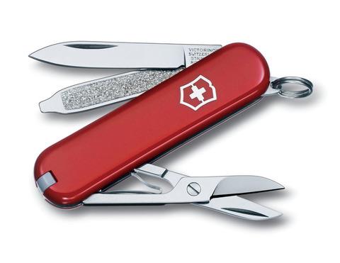 Нож-брелок VICTORINOX Classic SD 58 мм 7 функций красный VC6223