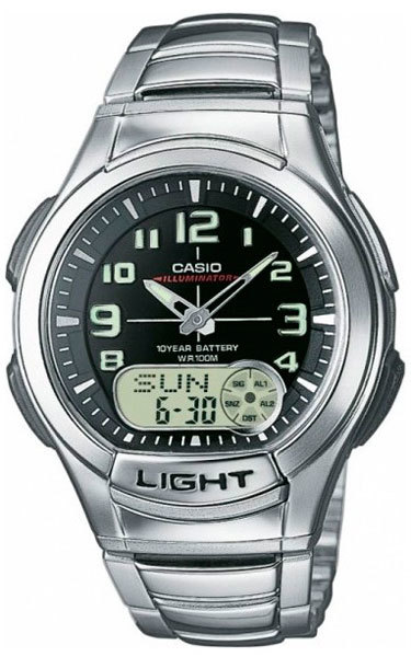 Часы мужские Casio AQ-180WD-1B Casio Collection