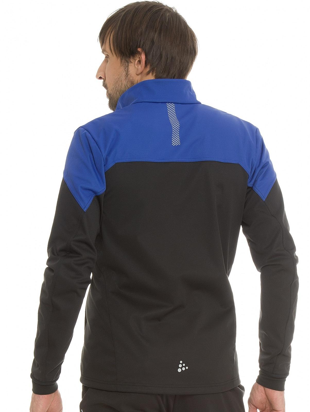 Мужская лыжная куртка Craft Voyage XC (1903581-2344) черный/синий фото