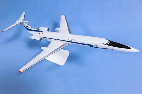 Модель самолета Ту-134 УБЛ (М1:100, Волга)