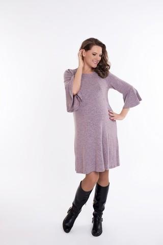 Платье 09076 розовый