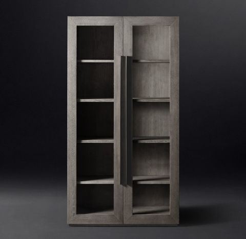 Machinto Glass Double-Door Cabinet