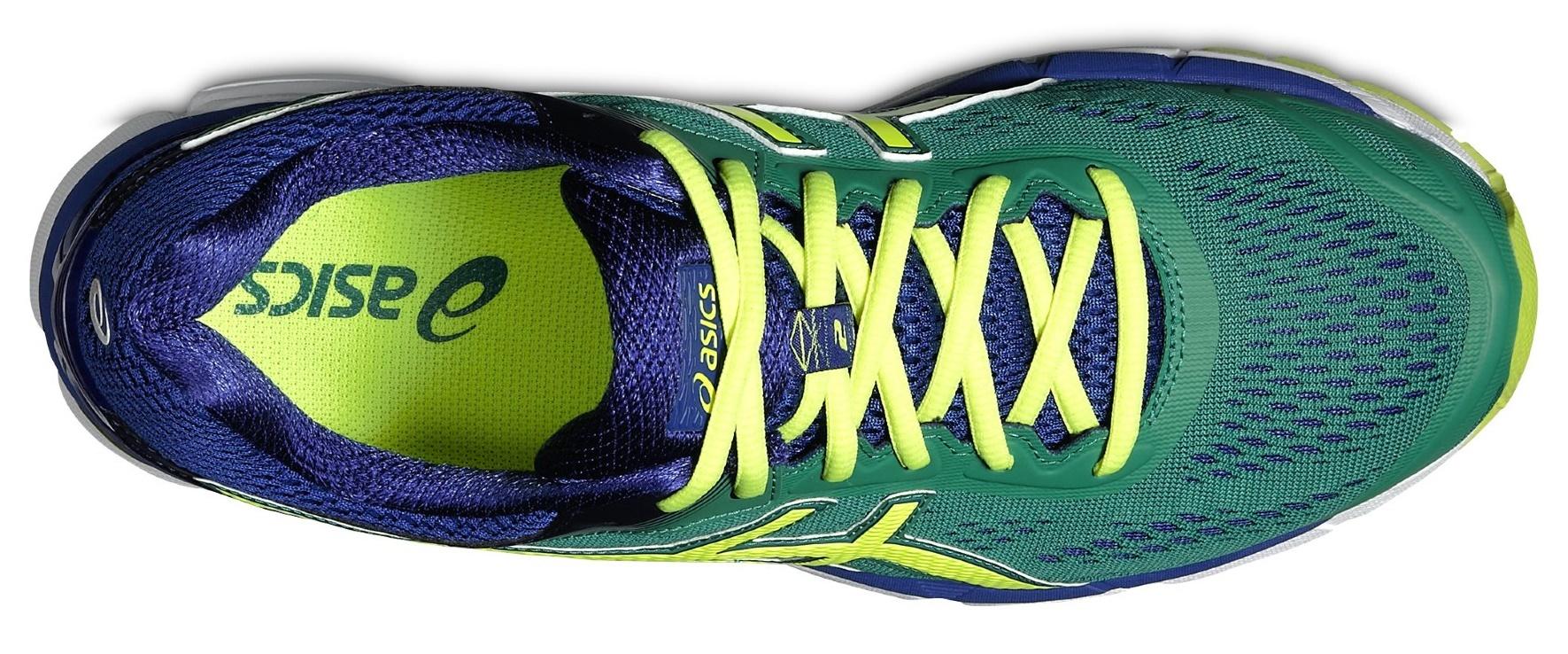 Мужские беговые кроссовки Asics Gel-Pursue 2 (T5D0N 8807) зеленые фото