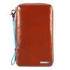 Чехол для документов Piquadro Blue Square оранжевый телячья кожа (PP3246B2/AR) цена и фото