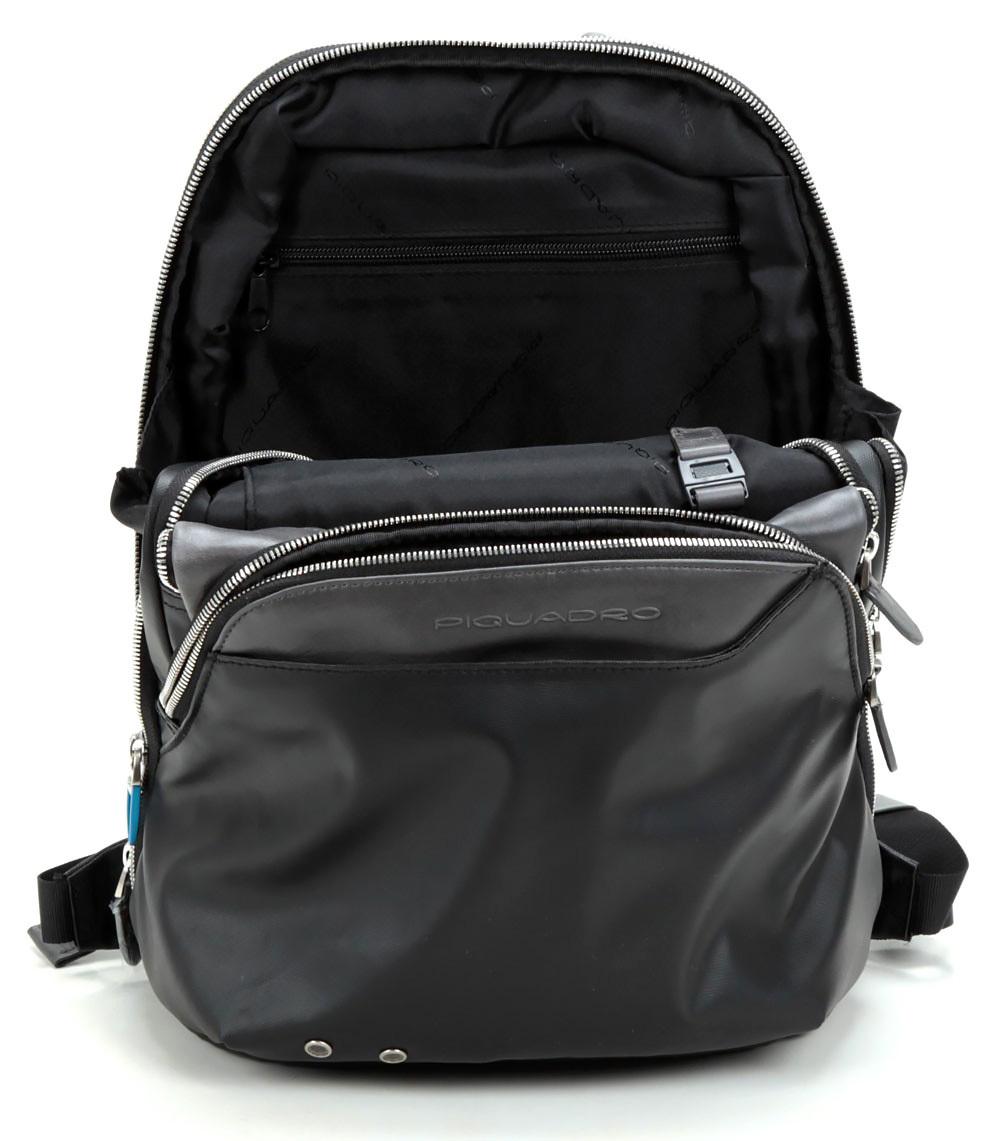 Рюкзак Piquadro Coleos, цвет черный, 27x36x14,5 см (CA2944OS/N)