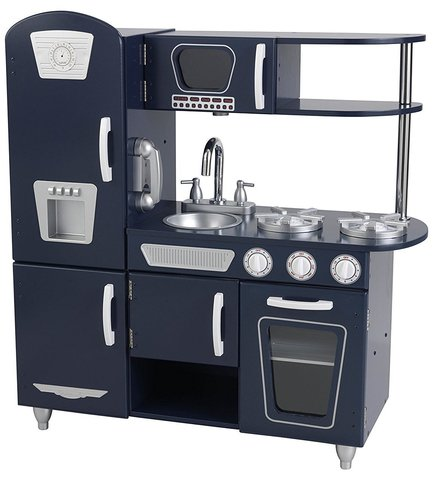 KidKraft Винтаж Vintage (синяя)- детская кухня 53296_KE