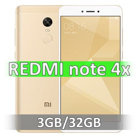Xiaomi Redmi Note 4X (3-32Gb) Gold