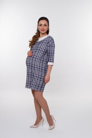 Платье для беременных 07754 серый