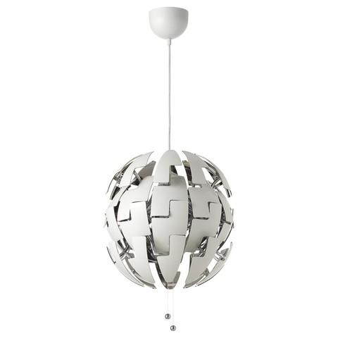 ИКЕА ПС 2014 Подвесной светильник белый, серебристый