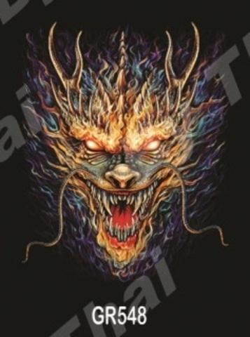 GR548 Дракон пламя M