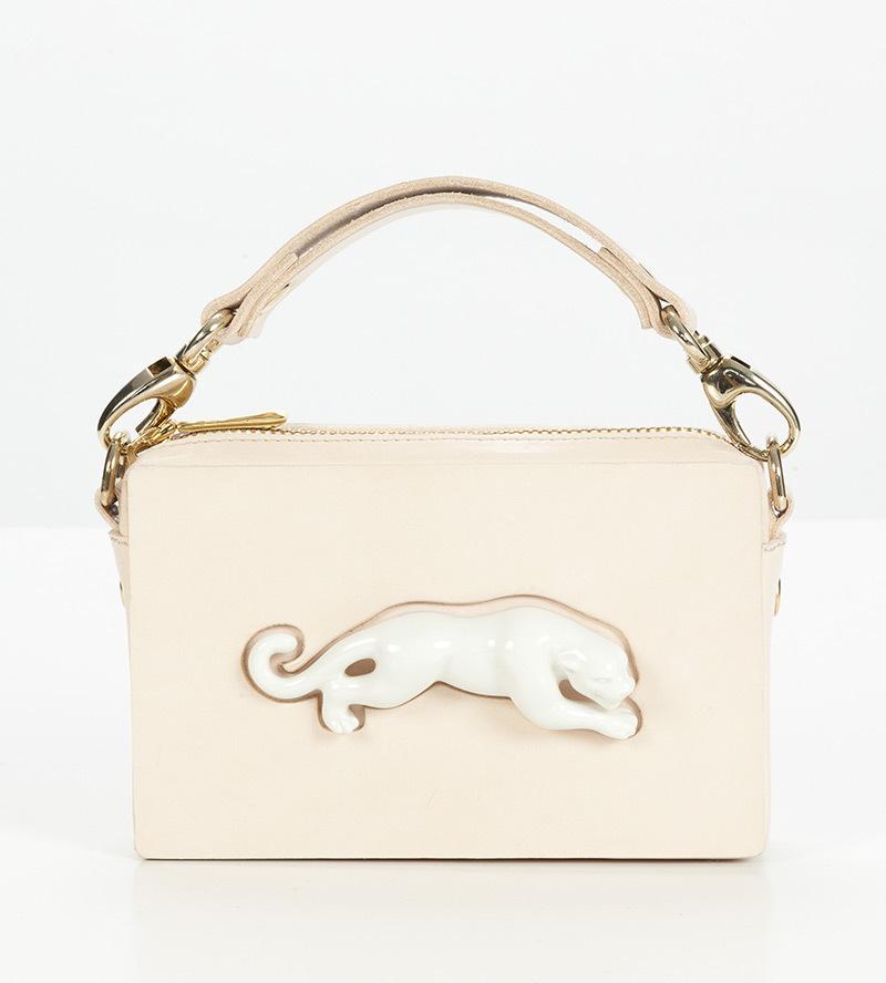 Прямоугольная сумка из кожи Panther от ANDRES GALLARDO