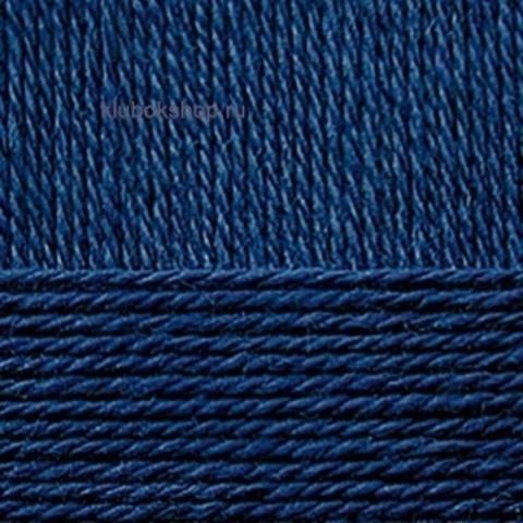 Пряжа Деревенская (Пехорка) 571 синий