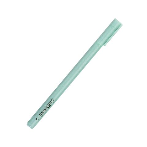 Ручка черная гелевая Sunshine Mint