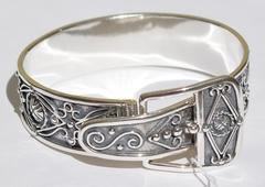 Ремень (серебряный браслет)