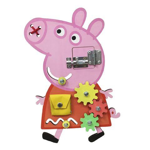 Бизиборд BUSY KIDS Свинка Пеппа