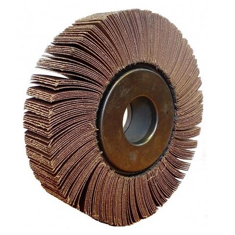 Круг радиальный лепестковый 150х30х32  Р 120(12) (Луга)