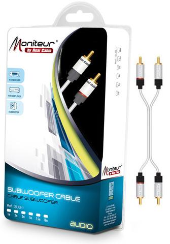 Real Cable 2RCA-1, 1m, кабель межблочный