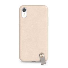 Чехол Moshi  Altra с ремешком на запястье для iPhone XR. Материал пластик. Цвет бежевая саванна.