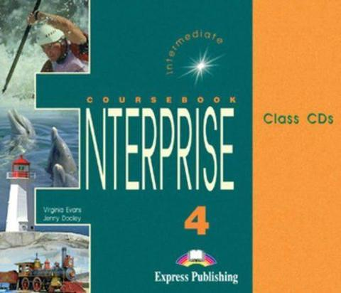 Enterprise 4. Class Audio CDs. (1 CD mp3). Intermediate. Аудио CD для работы в классе