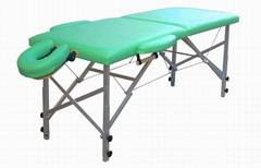 Складной массажный стол Массажист А алюминиевый