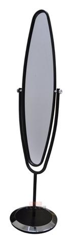 Зеркало напольное GC-1810 черный/хром