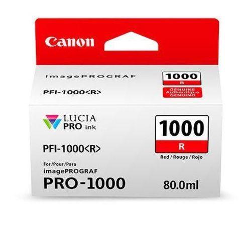 Картридж Canon PFI-1000 R красный (0554C001)