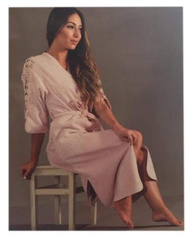 НАБОР женский махровый халат с тапками HEAVEN - ХЕАВИ Maison Dor Турция