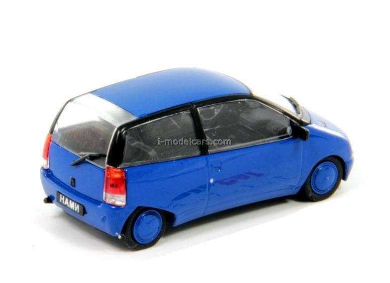 NAMI-0288 Compact blue 1:43 DeAgostini Auto Legends USSR #142