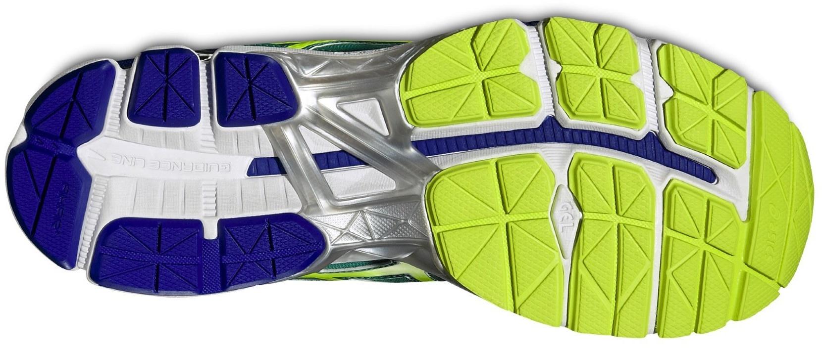 Мужские кроссовки для бега Asics Gel-Pursue 2 (T5D0N 8807) зеленые фото