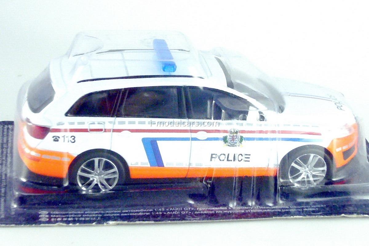 Audi Q7 Police Luxembourg 1:43 DeAgostini World's Police Car #28