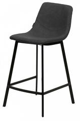 Барный стул HAMILTON RU-08 PU антрацит — черный