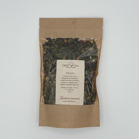 Зеленый чай СИЛУЭТ, 100 гр