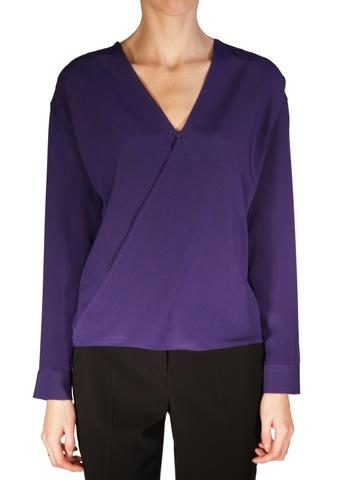 Блуза из шелка. Цвет фиолетовый/оранжевый ETRO