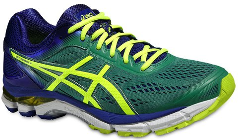 Кроссовки для бега Asics Gel-Pursue 2 мужские зеленые