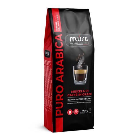 Кофе в зернах Must Pure Arabica 1кг