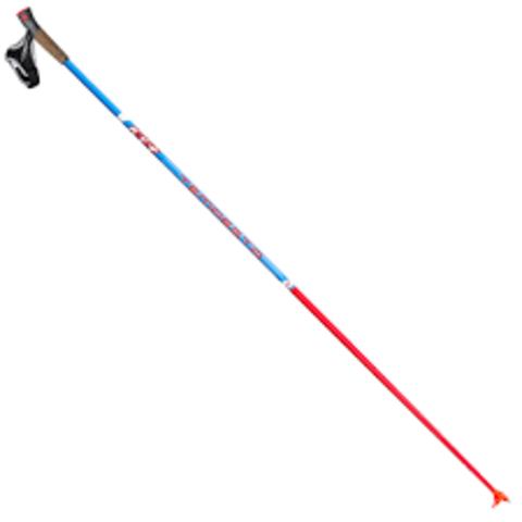 Спортивные лыжные палки  KV+ Tempesta Blue Clip (20P007)
