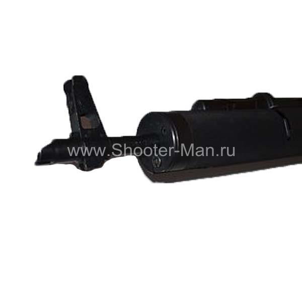 Тактическое трубчатое цевье на АК, черного цвета, алюминий Россия