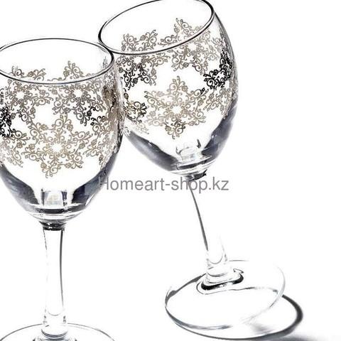 Фужер-вино 230 сс barocco 3*8 ;