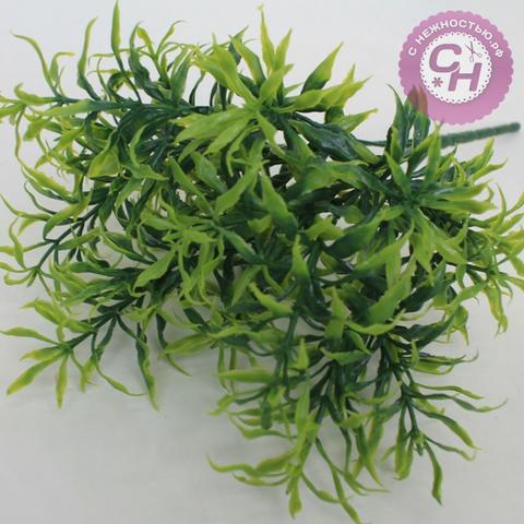 Искусственная зелень эстрагон, букет 5 веток, 33 см.