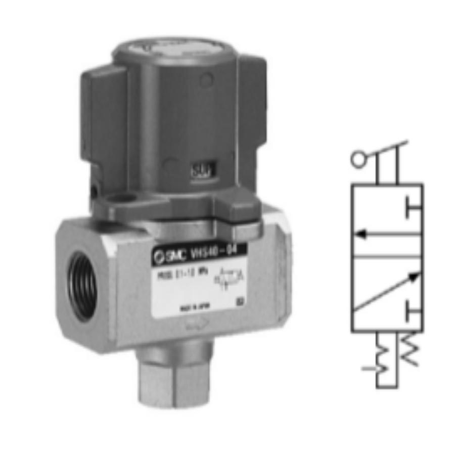 VHS40-F02A  3/2-Ручной запорный клапан, G1/4