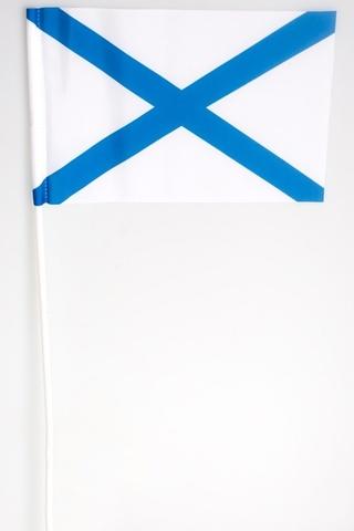 Флажок на палочке Адреевский флаг 15х23 см