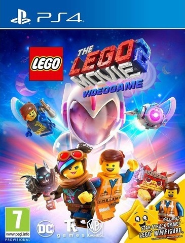 PS4 LEGO Movie 2 Videogame - Minifigure Edition (русские субтитры)