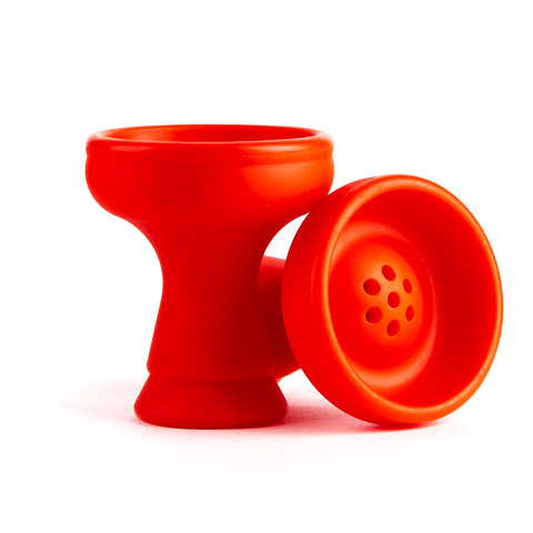 Чашка силикон чилим Красный